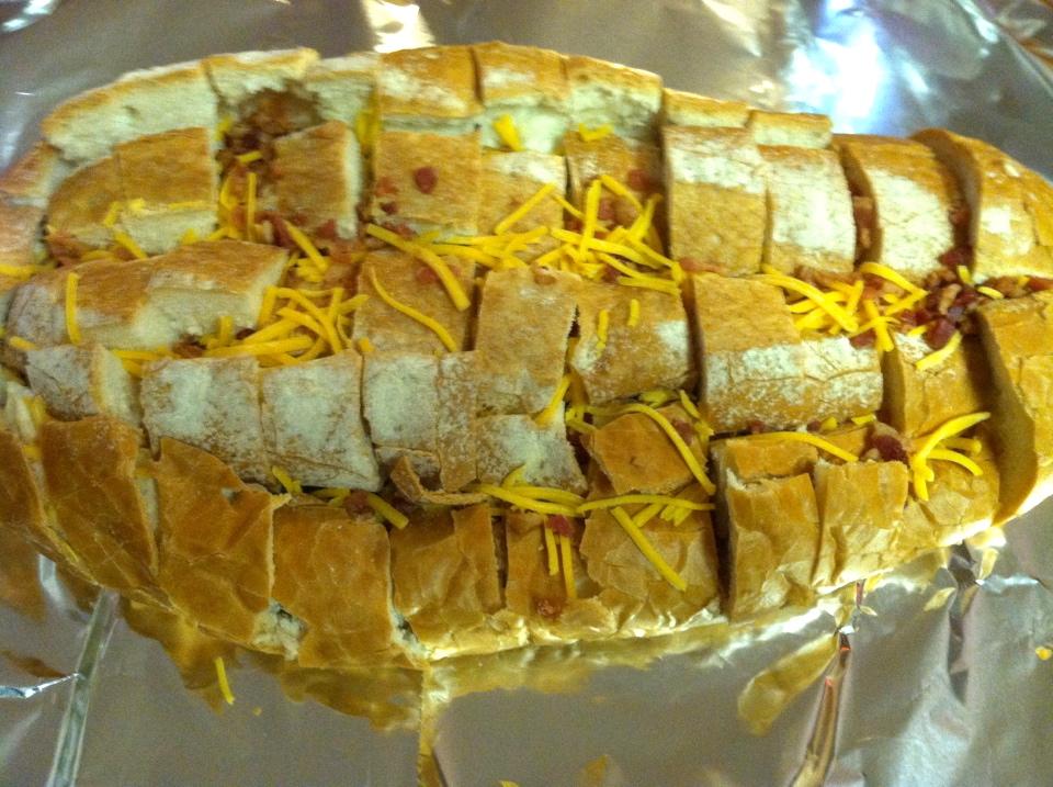 Bacon-Cheddar-Ranch Pull Apart Bread Recipe | Blair Blogs