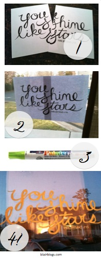 Window Painting 101 Pinterest   Blair Blogs
