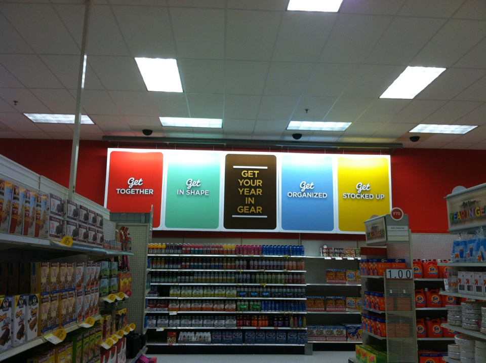 Target's New Year's Resolution Display | Blair Blogs