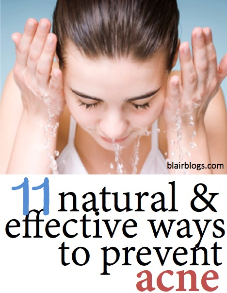 Natural & Effective Ways to Prevent Acne | Blair Blogs
