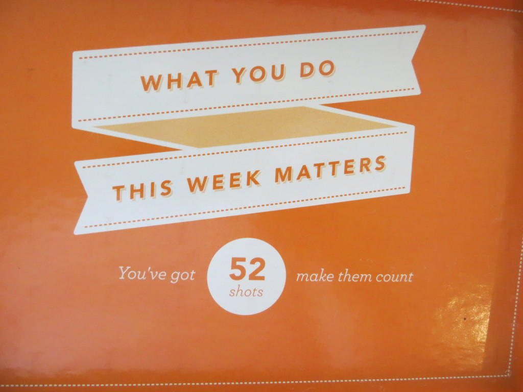 Make Every Week Count Marble Jar | Blair Blogs