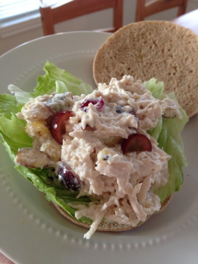 Fully Loaded Greek Yogurt Chicken Salad   Blair Blogs