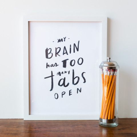 My Brain Has Had Too Many Tabs Open (How I'm dealing with feelings of being overwhelmed) | Blair Blogs
