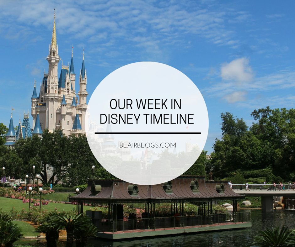 Our Week In Disney Timeline | Blairblogs.com