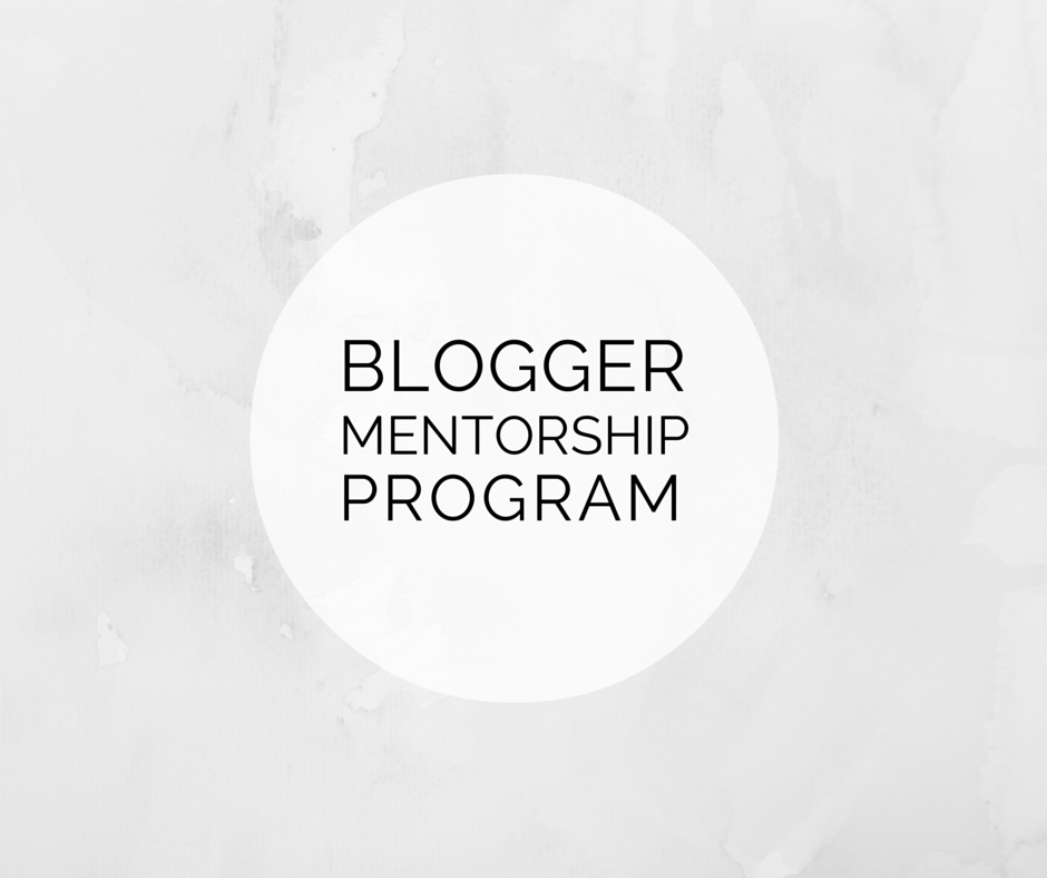 Blogger Mentorship Program | Blairblogs.com