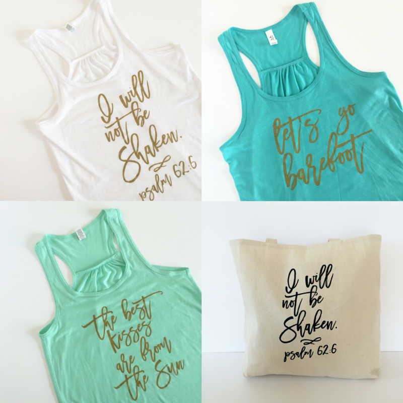 Behind The Scenes of Launching My Etsy Summer Tank Line | Blair Lamb Design on Etsy | BlairBlogs.com