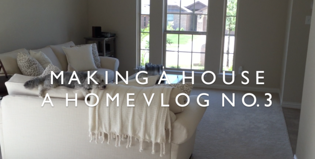 Making a House a Home Vlog No. 3 | BlairBlogs.com