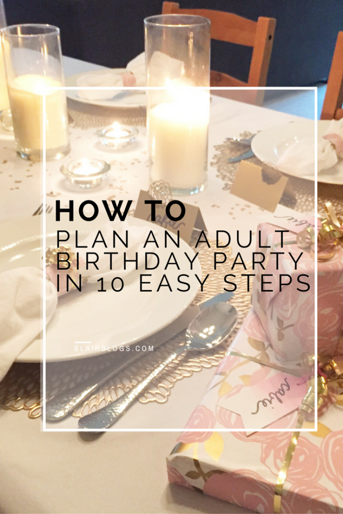 How to plan an adult birthday party post vlog blair for 35th birthday decoration ideas