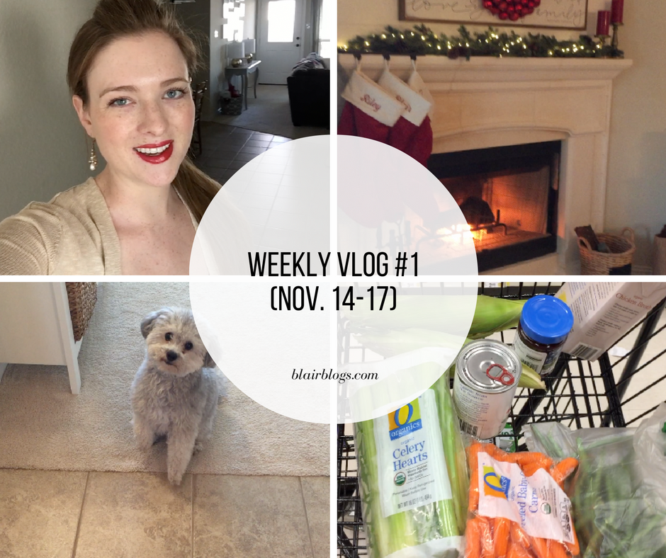 Weekly Vlog 1 | Blairblogs.com