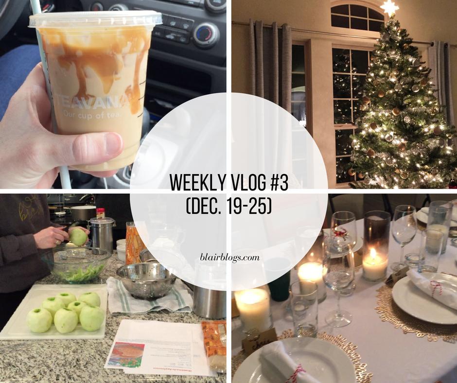 Weekly Vlog 3   Blairblogs.com