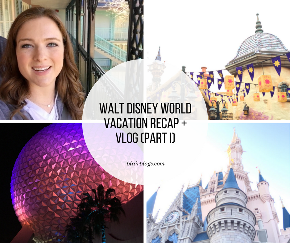Adults Only Walt Disney World Vacation Recap and Vlog (Part 1) | January 2017 | Blairblogs.com