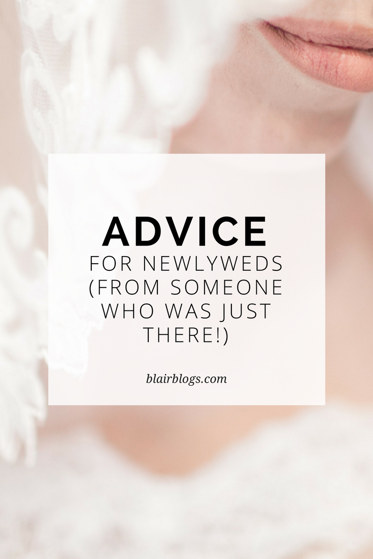 Advice for Newlyweds | BlairBlogs.com