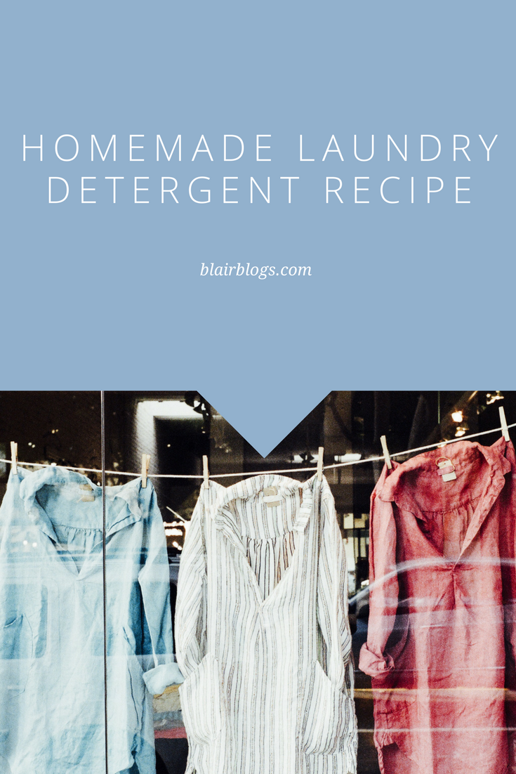 Homemade Laundry Detergent and Fabric Softener Recipes | BlairBlogs.com